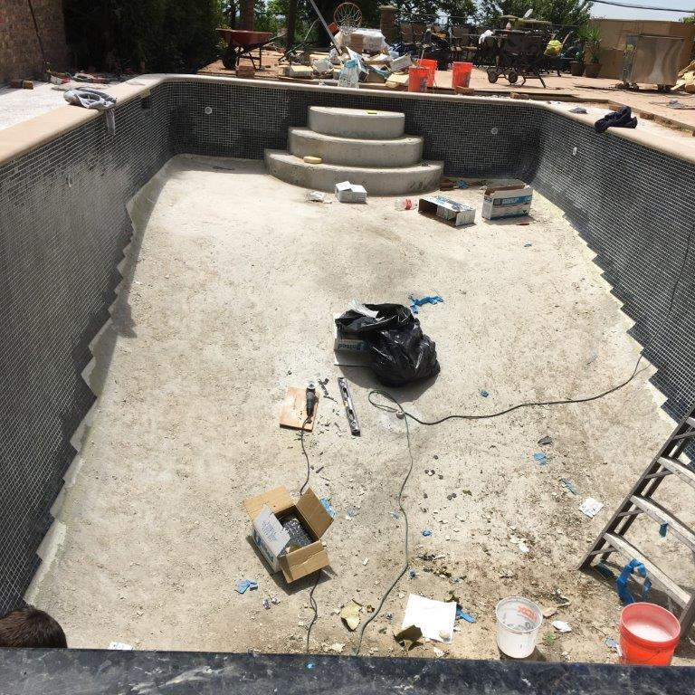 Tiling the pool