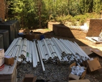 1800 feet of PVC pipes ordered