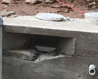 correcting concrete walls after bad concrete contractor work 10