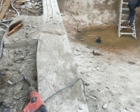 correcting concrete walls after bad concrete contractor work 6