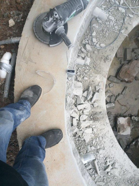 correcting concrete walls after bad concrete contractor work 3