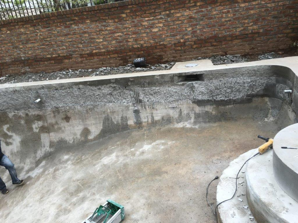 correcting concrete walls after bad concrete contractor work 7