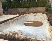 Pool Condition after digging out 3