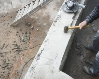 correcting concrete walls after bad concrete contractor work 8