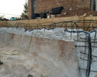 crack repairs and instalaltion of waterstops