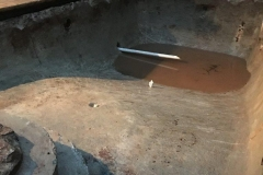 Pool condition after digging out