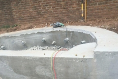 correcting concrete walls after bad concrete contractor work 2